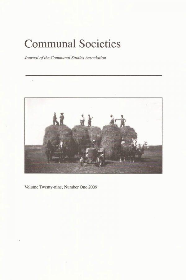 Volume 29, No. 1, 2009