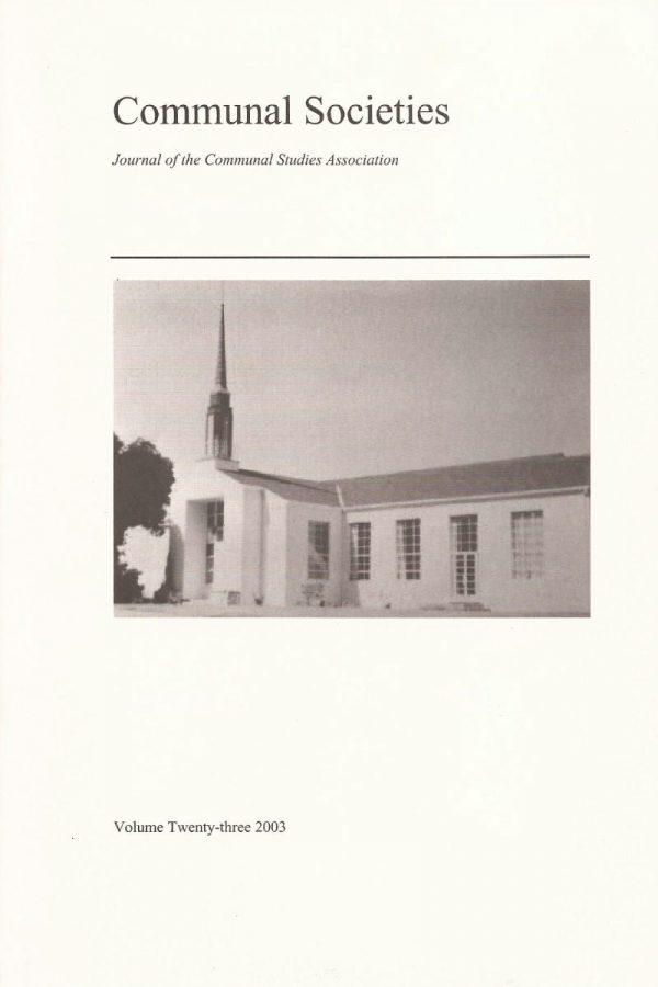Volume 23, 2003