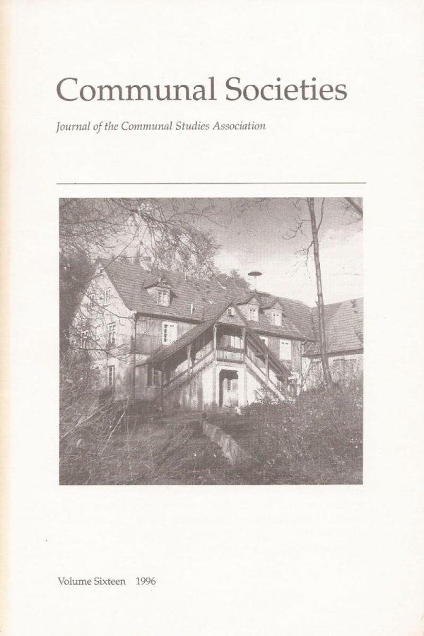 Volume 16, 1996